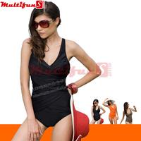 2309 triangle 3 colors orange khaki black women swimsuit one piece swimwear women plus size one-piece swim  padded  14175838301