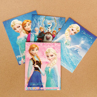 "Free Shipping 10pcs Frozen Cartoon 5.5""x4"" Kids Coloring Book with Stickers Drawing book Children Gift Hotsale"