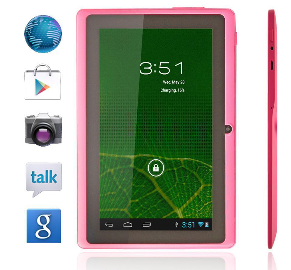 Ücretsiz kargo ucuz tablet pc a13 q88 sıcak 7 inç android tablet