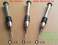 precision screwdriver set Pentalobe 0.8+ Pentagon 1.2 +Phillips 1.5 crewdriver FOR IPHONE Apple Apple Macbook Air Mobile Special