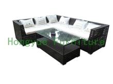 Modern patio rattan sectional sofa(China (Mainland))