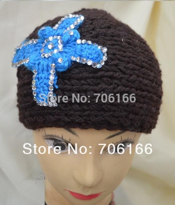 Classic handmade headbands diamon Cross crochet headwrap ,knit hairband / can Mixed and Epacket Free Shipping(China (Mainland))