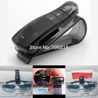 5 Pcs Sun Visor Glasses Eyeglasses Ticket Business Card Receipt Protective Holder Clip For Auto Car Truck SUV Black