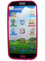 Hot sale Electronic touch screen smart phones baby mobile toy phone Talking English Learning Machine classic toys frss shipping