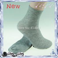 Free shipping male socks man sports socks pure color cotton socks men socks wholesale (60 pieces = 30 pairs)