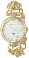 New Arrival Women's Wristwatch Ladies' All Gold Twist Chain Flower Style Diamond Dial Fashion Quartz Watch