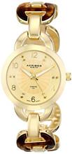 New Arrival Women's Fashion Wristwatch Lady Diamond Analog Display Quartz Gold Watch Gift for Christmas