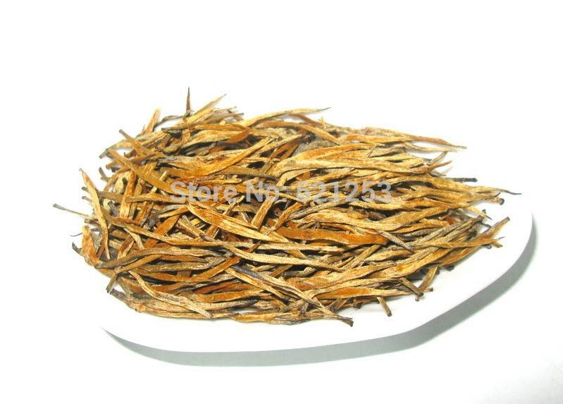 100G AAAAA Golden DianHong Golden Eyebrow Black Tea Free shipping