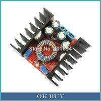 DC-DC Buck Converter 10A 24V/12V LED Driver CC CV Charging 7-32V to 0.8-28V Adjustable Step-Down Voltage Power Supply Module
