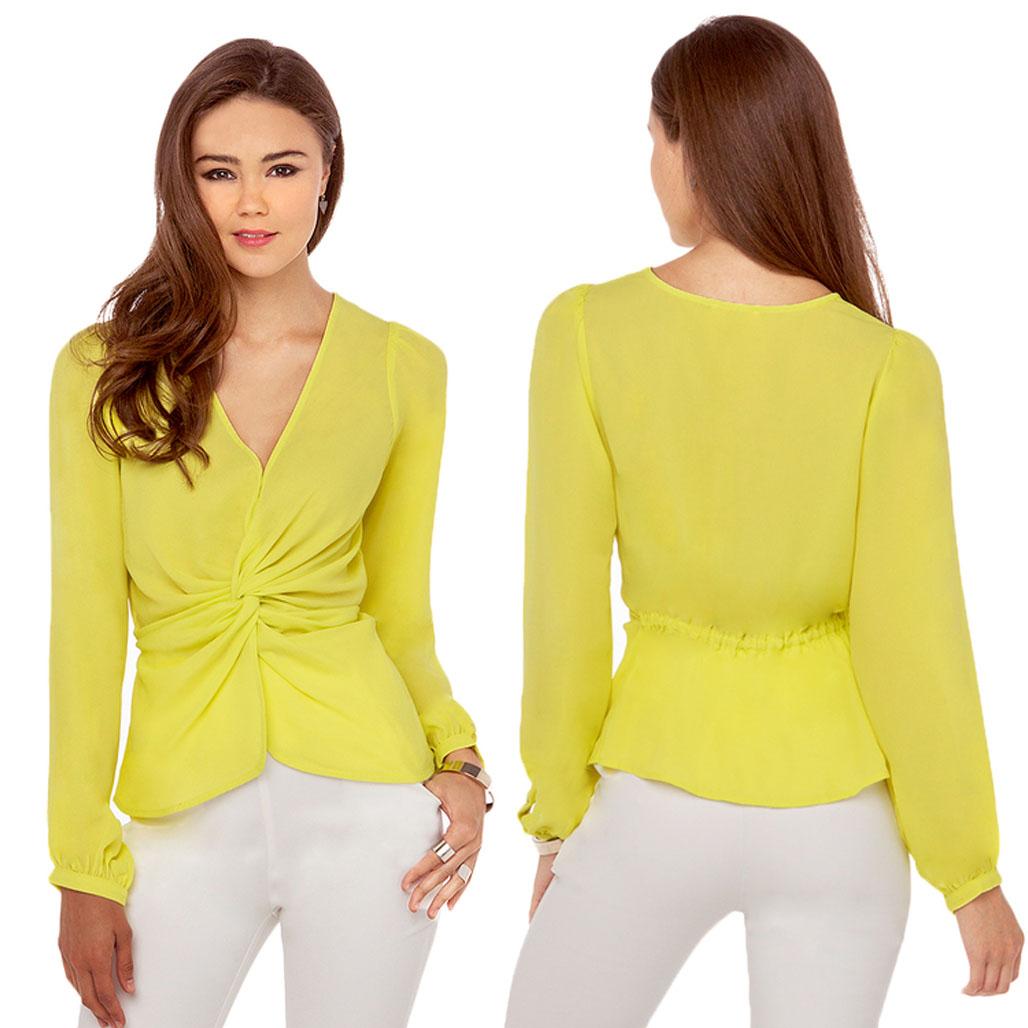 Желтая Блузка