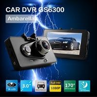 100% Original Ambarella Car DVR Full HD1080P 30FPS Camera 170 Degree Wide Angle+G-sensor H.264 Video Recorder of The Automobile