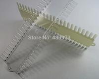Free shipping /drop shipping 4pcs/lot 48color tips 48 Tips Ivory False Nail Art Polish Display DIY Color Chart Palette Creamy