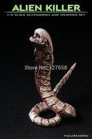 1/6  Alien vs. Predator Prometheus shaped larvae killer L20cm action figure can be bent wire shape  new box in stock