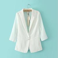 Cardigans Blaser Feminino Women Regular Small Blazer Thin Sleeve Stitching Suit Jacket Clothing Outerwear 2014 New Wear Hot Sale