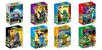 Baby Toys Decool 501-508 8pcs Teenage Mutant Ninja Turtles Ninja Ninjago action Bricks figures Minifigures Building Blocks toys