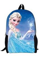 Children backpacks Frozen bags,cartoon brand violetta kids backpack,Children's school bags for girls,Student book bag for girls