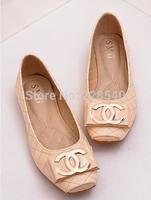 Free shipping EuropePressing diamond lattice flats shoes decorative square toe Flats Women Flats plus size 35--41