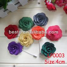 ( 8 цветов каждый 50 шт, 400 шт./лот ) мужчины в костюм ткань цветок нагрудные