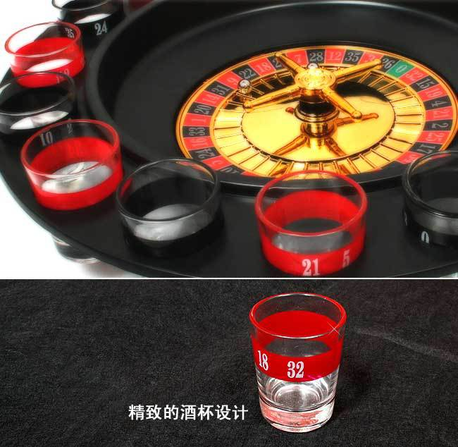 Transparent acrylic Russian turntable 16 wine cup wheel drinks auxiliary game(China (Mainland))