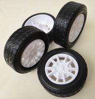 30/38mm model wheel / 1:20 Rubber Tire / diy robot small production / remote control car accessories