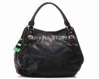 free shipping!new arraival fashion handbags,women genuine leather bag,brand handbags women bags, quanlity leather,BLACK, 4002B