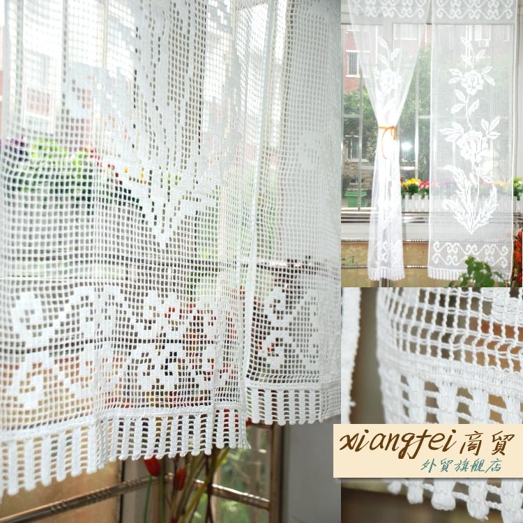 Estilo japon s cortina blanca de algod n semi sombra - Cortinas estilo japones ...