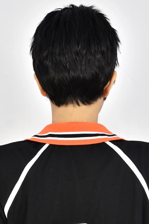 sawamura daichi Black Short Cosplay Anime Wig Men s Synthetic Party Hair