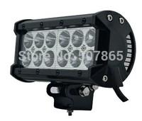 "7""  Dual Row 36W Cree LED Work Light Bar Lamp Spot Flood Tractor Boat Off-Road 4WD 4x4 12v 24v Truck SUV ATV"