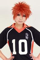 hinata syouyou Orange Cosplay Anime Wig.Heat Resistance Fiber