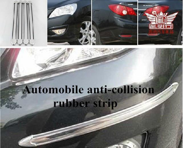 Автомобиль предотвращения столкновений резина полоска анти-руб в бампер гвардии полоска автомобиль полоска толщина 4 штук a lot