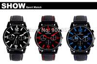 200pcs 2014 F1 Racing Men Sports Watches Luxury Brand Grand Touring GT Silicone Men Quartz Military Watch Japenese Movement