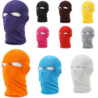 Free Shipping  New Lycra Ski Full Face Mask Motorcycle Cycling Outdoor riding Bike Bicycle Scarf Hood CS Hiking speed dry