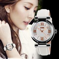 2014 New Fashion Brand Beautiful Luxury Women Dress Watches ladies quartz Wristwatches leather strap relogio feminino Clock
