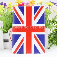 2014 free shipping/British flag stereoscopic 3 d plane passport passport holder set id card package