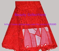 Free shipping!!! French lace chemical lace Guipure lace Cord lace fabric  FL00952 red 5 yards a piece retail/wholesale