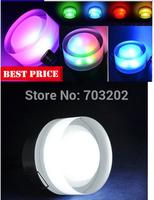 AC85-265V Round Acrylic Mask Colorful Decoration LED rgb Ceiling Downlight rgb Wall lights