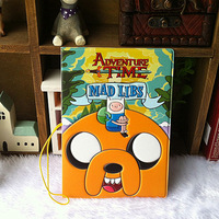 2014 free shipping/Adventure ended (Adventure time) set of passport holder documents necessary to travel abroad