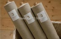Free Shipping 140*100cm natural linen fabric Korean ZAKKA cotton linen fabric Basic linen cotton material DIY Art Manual Cloth