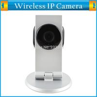 P2P Plug and Play SD/TF Card Slot Dual Audio HD 1.0 Megapixel IP Home Monitor CCTV Camera Mini Hidden 720P Wifi IR Night Vision