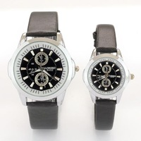 2014 fashion designer brands new watch lovers wristwatch couple leather strap waterproof watch free shipping