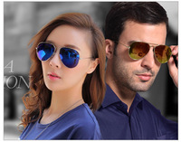 2014 New Anti ultraviolet radiation frog Sun Glasses Coating Sunglass For men and Women Sunglass ES6611
