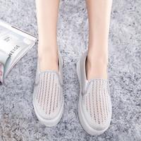2014 summer new mesh flat shoes fashion casual shoes waterproof