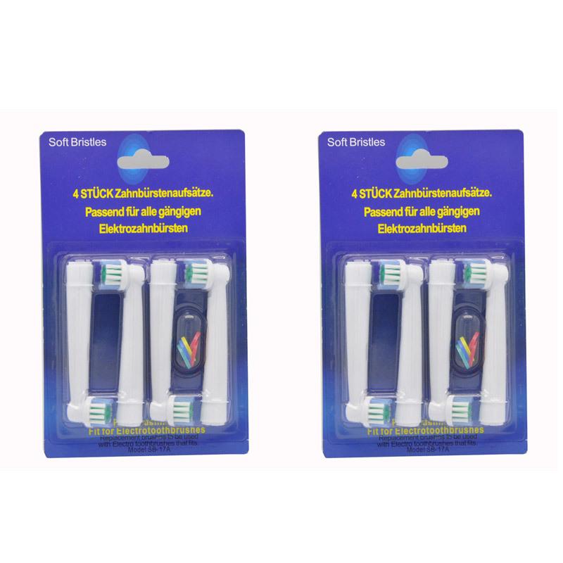 dhl 4000 pcs prix usine poils doux emballage neutre de remplacement sonic brosse à dents électrique têtesperte livraison gratuite