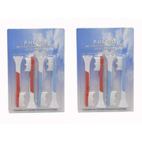 Free shipping DHL 4000pcs soft bristles Replacement electric sonic toothbrush heads