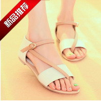 2014 summer new fashion casual flat sandals women shoes tendon comfortable working