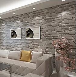 Stein tapete wohnzimmer 3d - Wohnzimmergestaltung 3d ...