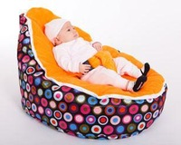 FREE SHIPPING Color Polka Disco Jelly baby beanbag, two tops baby beanbag, baby beanbag