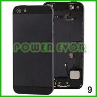 Complete Fully Pre-Assembled Middle Frame Chassis Housing Bezel Full Assembly Housing for iphone 5 Free Shipping