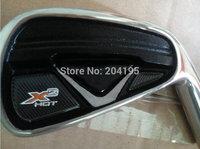 Brand New X2 HOT Pro Iron Set Golf Clubs 4-9PAS (9pcs) Steel Shaft Regular or Stiff Shaft Flex With Headcover