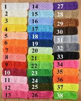 2014 Fashion Kids Baby Girls Infant Newborn crochet tube top tutu Knit Headbands Headwrap Hair Wear Accessories 100pcs/lot